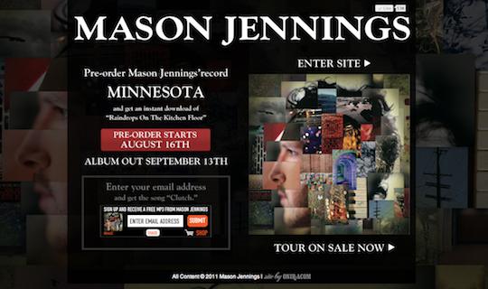 Mason Jennings Minnesota Re-Skin
